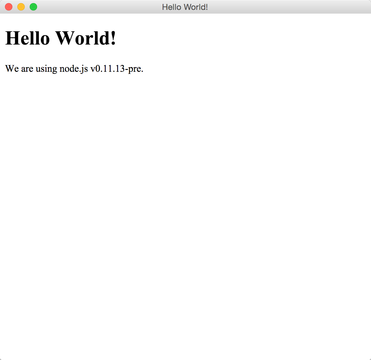 node-webkit の Hello World
